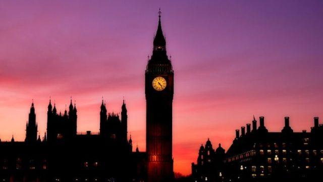 フィックス 時間 ロンドン